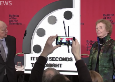Doomsday Clock moves closest in its 73 year history - ABC News